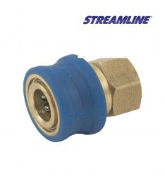 High Pressure Easy Grip 1/4inch Female Quick Disconnect coupling, with 1/4inch Female Thread