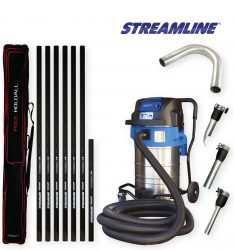70ltr Streamvac™ Commercial Gutter Cleaning System - 9.1mtr