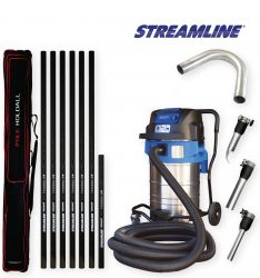 70ltr Streamvac™ Commercial Gutter Cleaning System - 9.1mtr - Complete with CCTV kit