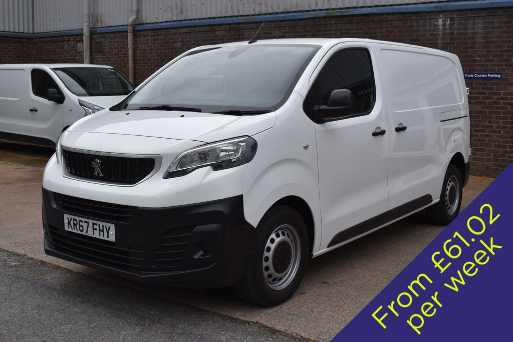 2017 (67 Reg) Peugeot Expert Window Cleaning Van