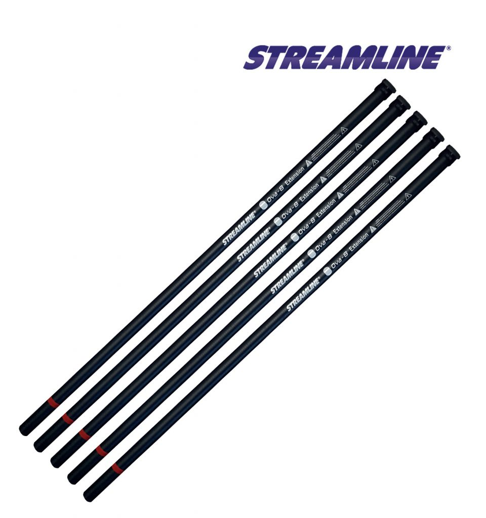 STREAMLINE® OVA8® pole extensions – 17ft to 45ft and 25ft to 50ft