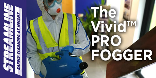 VIVID™ PRO FOGGER Machine in action