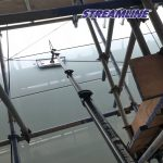 11mtr, 40ft reach Dragonfly®4 Internal Window Cleaning System complete with STREAMLINE OVA8® pole,