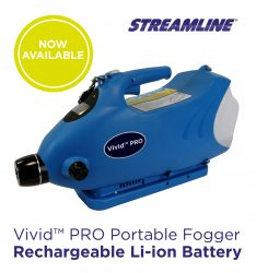 Vivid™ PRO FOGGER Machine, Rechargeable Li-ion Battery