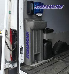 Streamwash - Van mounted hand sanitiser units