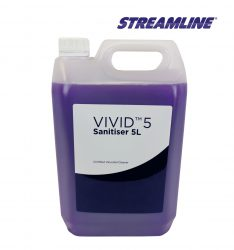 5 Litre tub of VIVID™ 5 Virucidal Sanitiser