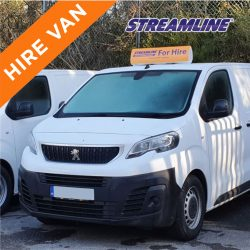 Window Cleaning Hire Van