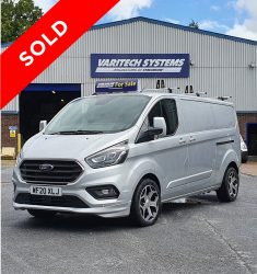 2020 (70 Reg) Ford Transit Custom Sport Window Cleaning Van