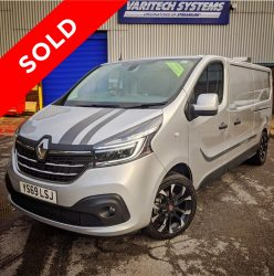 2019 (69 reg) Renault Trafic Sport Window Cleaning / Hot Pressure Washing Van