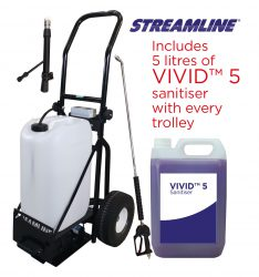 VIVID™ 25 External Sanitiser Disinfecting Trolley Kit