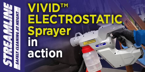 Vivid™ ELECTROSTATIC Disinfecting Sprayer