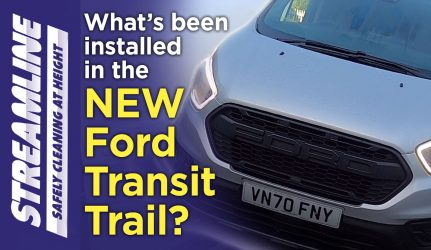 What's installed in the latest Ford Transit Trail?
