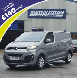 2021 (21 Reg) Citroën Dispatch Window Cleaning Van IN STOCK