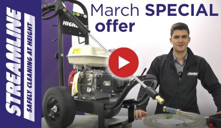 March 2021 Pressure Washer Offer
