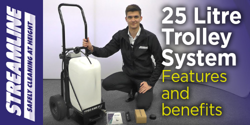 25 Litre Trolley System – benefits and features